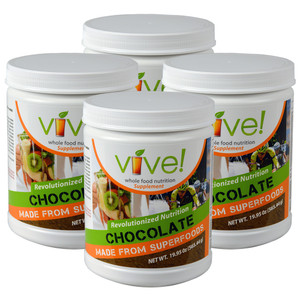 Vive Whole Food Nutritional Supplement One Month Supply - Chocolate