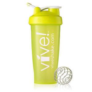 BlenderBottle® Vive Classic 28 oz Shaker Bottle - Green & White
