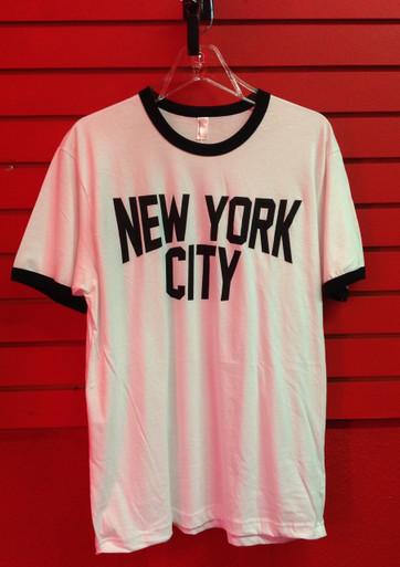 John Lennon New York City Ringer T- Shirt