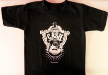 Johnny Cash Guitar Toddler T-Shirt