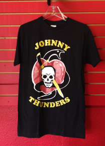 Johnny Thunders Tattoo Logo T-Shirt