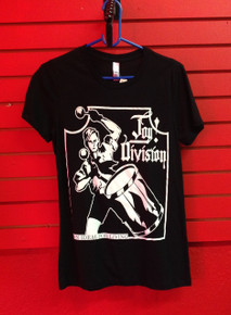 Joy Division Ideal for Living Girls/Slim Cut T-Shirt