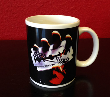 Judas Priest British Steel Mug