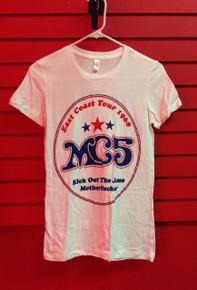 MC5 68 East Coast Tour Slim Cut T-Shirt