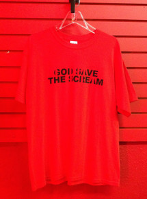 Primal Scream God Save the Scream T-Shirt in Red