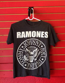 Ramones Logo Recent Vintage T-Shirt - Size Small