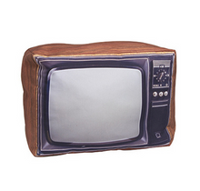 Retro Pillow - Old School TV Set