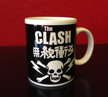 The Clash Skull and Crossbones Mug