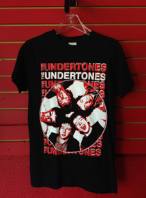 The Undertones Band T-Shirt in Black