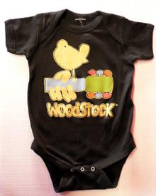 Woodstock Poster Baby Onesie