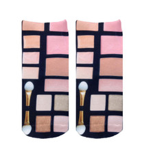 Living Royal Make Up Palette Ankle Socks