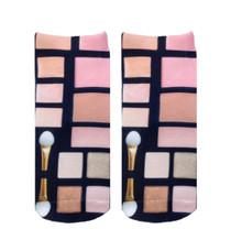 Living Royal Make Up Palette Ankle Socks