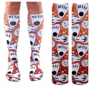 Living Royal Ouija Board Knee-high Socks