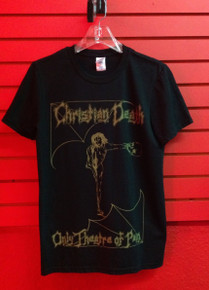 Christian Death - Only Theatre of Pain T-Shirt - Frontier Records