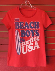 The Beach Boys Surfing USA Retro Babydoll Cut T-Shirt