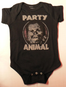 Chewbacca Party Animal Baby Onesie