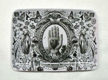 Gothic Victorian Heart Tray
