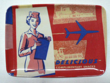 Retro Airliner Complimentary Snacks Tray