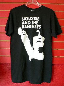 Siouxsie and the Banshees Punk Style Silhouette T-Shirt