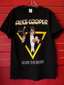 Alice Cooper - Welcome to My Nightmare Album Cover T-Shirt