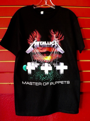 Metallica - Master of Puppets Album Cover T-Shirt front