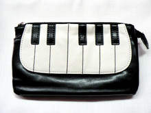 Piano / Keyboard Two Section Purse