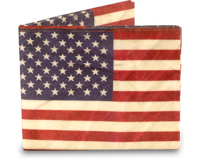 Mighty Wallet- American Flag U.S.A.