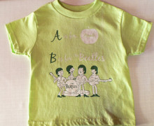 Beatles B is for Beatle T-Shirt in Light Green