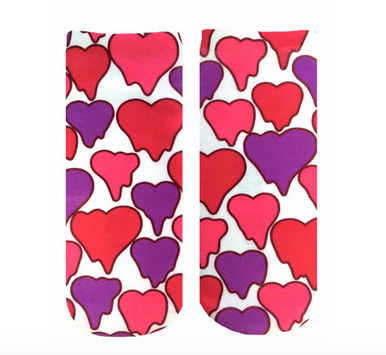 Living Royal Melting Hearts Ankle Socks