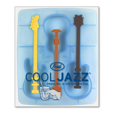 Cool Jazz Drink Ice Cube Stirrers Tray