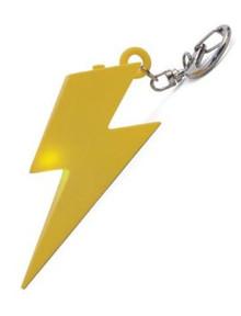 Thunderbolt LED Keyring Keychain