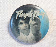 Vintage 80s Prince - Purple Rain - Pin / Button / Badge (Date Stamped 1984)