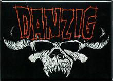Danzig Skull Logo Fridge Magnet