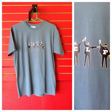 Beatles Blue Help T-Shirt in Medium