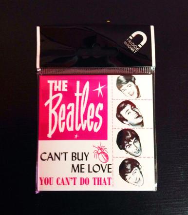 Beatles Can't Buy Me Love Fridge Magnet