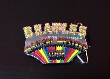 Beatles Magical Mystery Tour Belt Buckle