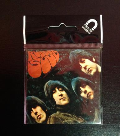 Beatles Rubber Soul Fridge Magnet