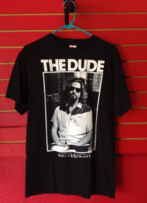 Big Lebowski The Dude T-Shirt In Black
