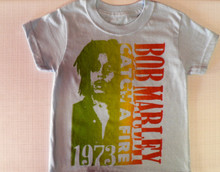 Bob Marley 73 T-Shirt in Light Blue