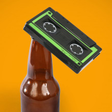 Cassette Tape Bottle Opener