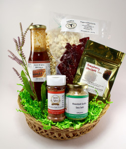 Edmonton gift baskets the yeg basket includes an assortment of local goodies from vendors at the community farmers negle Images