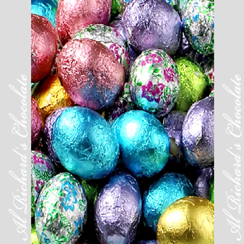 Milk Chocolate Foiled Eggs