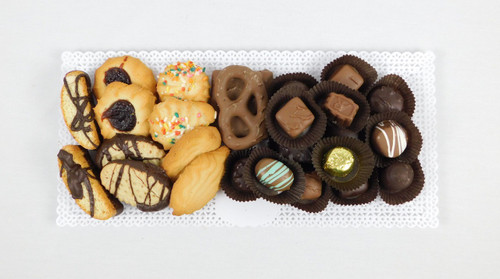 1 Pound Chocolate and Cookie Tray