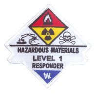 Hazardous Materials Level 1 Responder Patch
