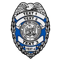 Custom Mississippi Badge Decal