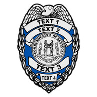 Custom Kentucky Badge Decal