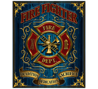 Firefighter Blanket
