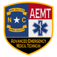 NC Advanced Emergency Medical Techinican Certified Patch Decal