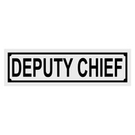 Deputy Chief Title Decal