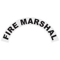 Fire Marshal Helmet Crescent